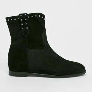 Solo Femme Magasszárú cipő női fekete