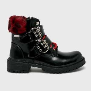 Pepe Jeans Magasszárú cipő Collie Warm női fekete