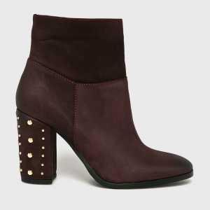 CheBello Magasszárú cipő női gesztenyebarna