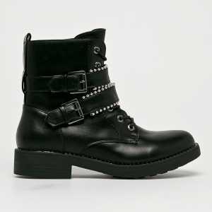 Haily's Magasszárú cipő Belina női fekete