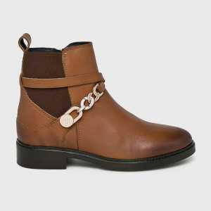 Tommy Hilfiger Magasszárú cipő női barna