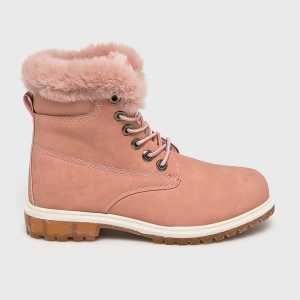 Haily's Magasszárú cipő női pirosas rózsaszín