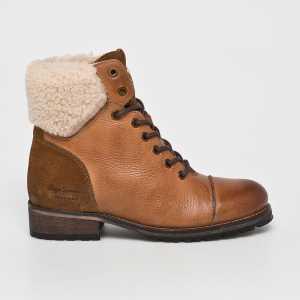 Pepe Jeans Magasszárú cipő Melting Warm női aranybarna