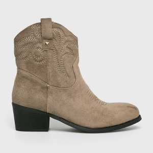Answear Magasszárú cipő Moow női mustár színű