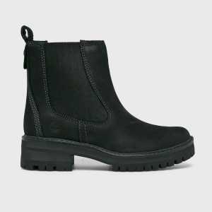 Timberland Magasszárú cipő Courmayeur Valley női fekete