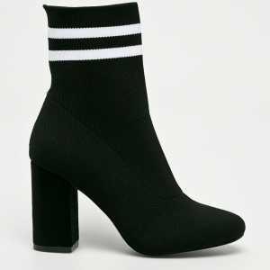 Haily's Magasszárú cipő Socks női fekete