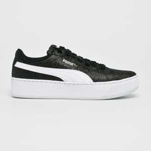 Puma Gyerek cipő Vikky Platform Glitz női fekete