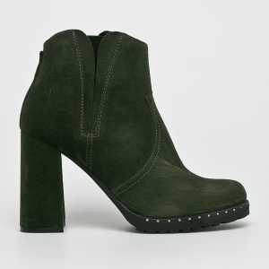 Solo Femme Magasszárú cipő női zöld