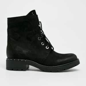 CheBello Magasszárú cipő női fekete