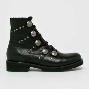 Badura Magasszárú cipő női fekete