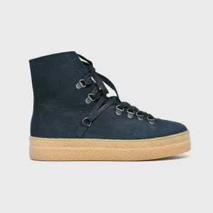 Wojas Magasszárú cipő női sötétkék