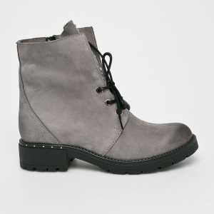 CheBello Magasszárú cipő női szürke