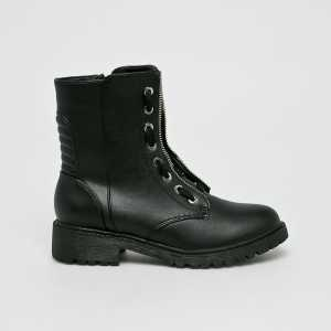 Medicine Magasszárú cipő Basic női fekete