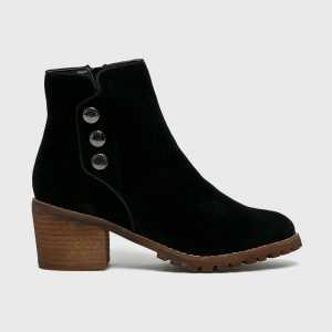 Big Star Magasszárú cipő női fekete