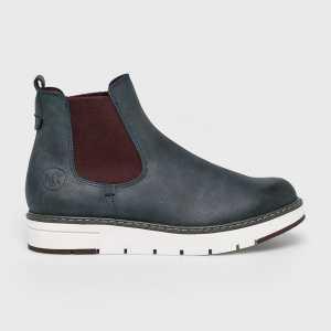 Marco Tozzi Magasszárú cipő női sötétkék