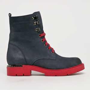 CheBello Magasszárú cipő női sötétkék
