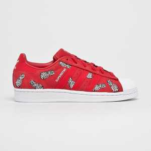 adidas Originals Cipő Superstar W női piros