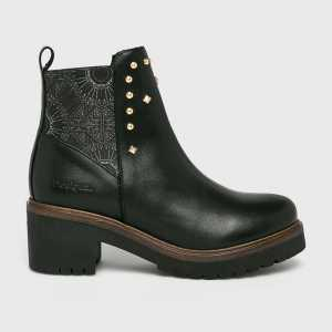 Desigual Magasszárú cipő női fekete