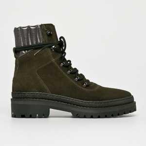 Tommy Hilfiger Magasszárú cipő női katonai
