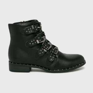 Haily's Magasszárú cipő Marit női fekete