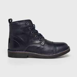 Levi's Magasszárú cipő Track női sötétkék