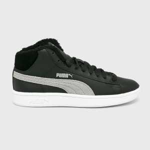 Puma Cipő Smash v2 Mid női fekete