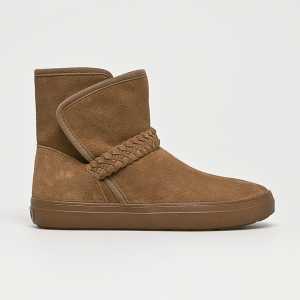 Crocs Magasszárú cipő női piszkos barna