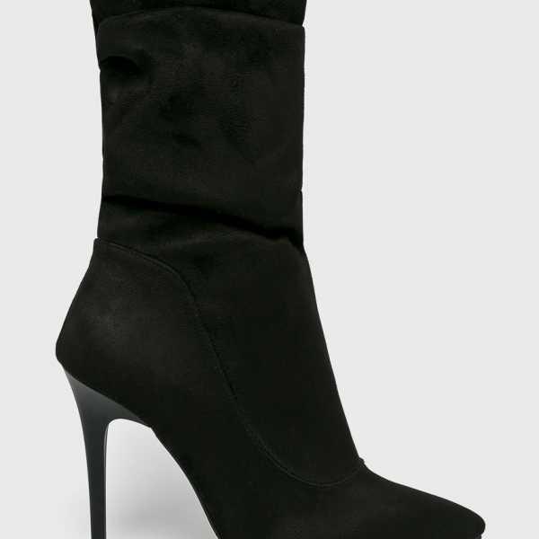 Trendyol Magasszárú cipő női fekete
