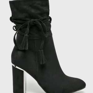 Answear Magasszárú cipő női fekete