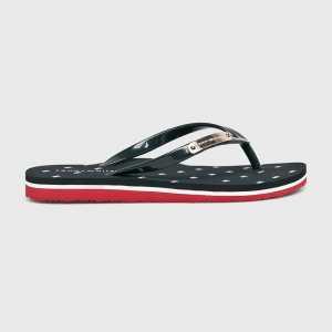 Tommy Hilfiger Flip-flop női sötétkék