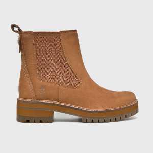Timberland Magasszárú cipő Courmayeur Valley Chelsea női barna