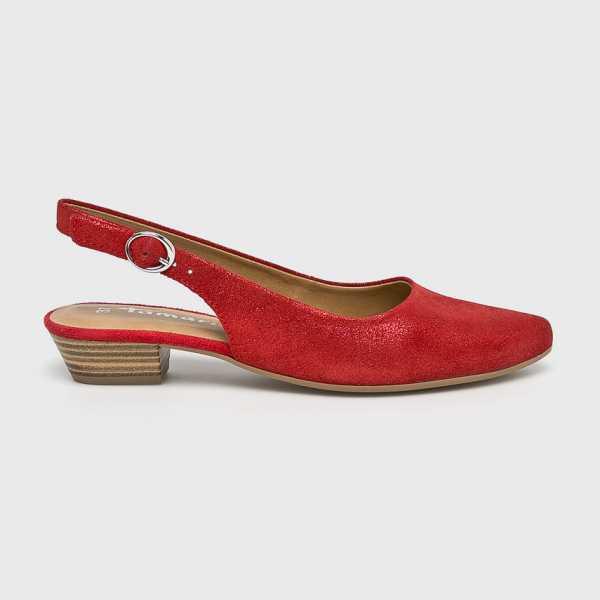 Tamaris Balerina női piros