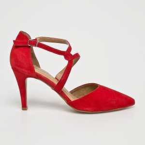 Tamaris Tűsarkú cipő női piros