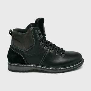 Mustang Magasszárú cipő férfi fekete